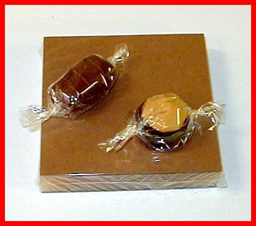 Clear Candy Wrappers For Wrapping Chocolate Caramels