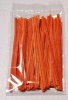 ORANGE 4 Inch Twistie Bag Ties (Box of Qty 2000)