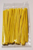 YELLOW 4 Inch Twistie Bag Ties (Qty 100)