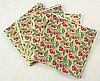 CHERRY PRINT - 5 X 5 Candy Wrapper FOIL Sheets (Qty 125)